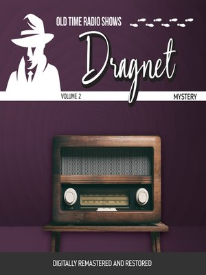 cover image of Dragnet, Volume 2