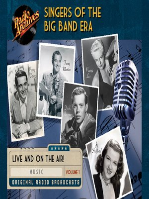 cover image of Singers of the Big Band Era, Volume 1