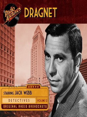 cover image of Dragnet, Volume 12