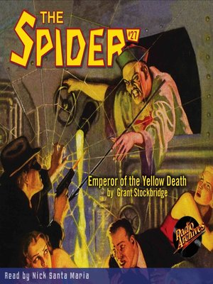 cover image of The Spider #27