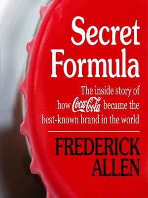cover image of Secret Formula