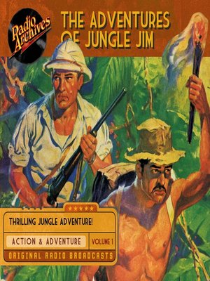 cover image of The Adventures of Jungle Jim, Volume 1