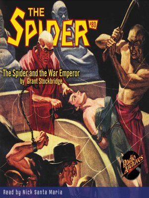 cover image of The Spider #80