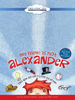 cover image of My Name is Not Alexander