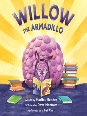 cover image of Willow the Armadillo