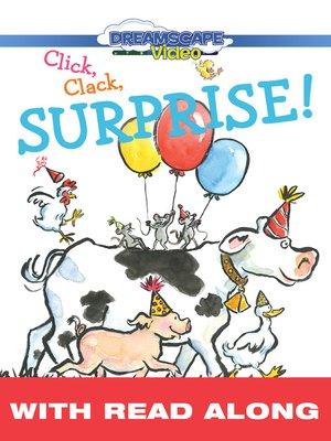 cover image of Click, Clack, Surprise!