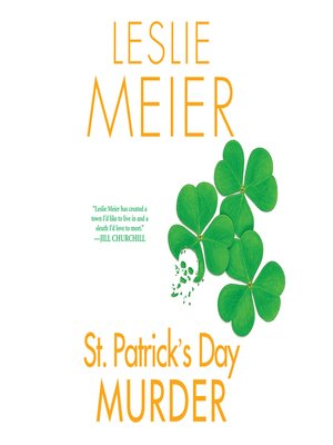 cover image of St. Patrick's Day Murder
