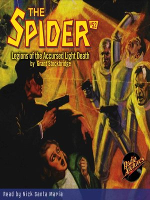 cover image of The Spider #52