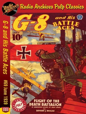 cover image of G-8 and His Battle Aces #69