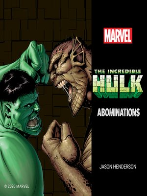 cover image of The Incredible Hulk: Abominations