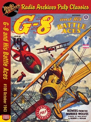 cover image of G-8 and His Battle Aces #106