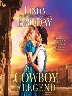 cover image of A Cowboy of Legend