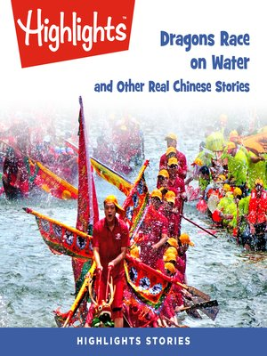 cover image of Dragons Race in the Water and Other Real Chinese Stories