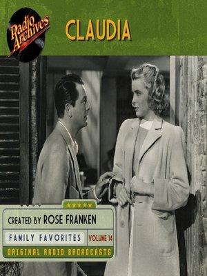 cover image of Claudia, Volume 14
