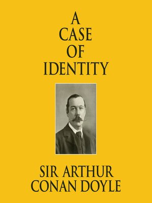 cover image of A Case of Identity