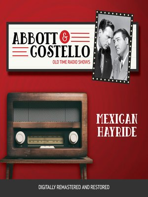 cover image of Abbott and Costello: Mexican Hayride