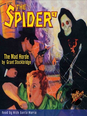 cover image of The Spider #8