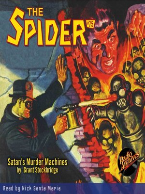 cover image of The Spider #75
