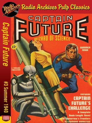 cover image of Captain Future #3