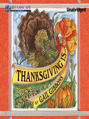 cover image of Thanksgiving Is...