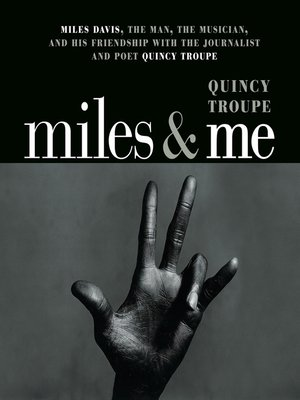 cover image of Miles and Me
