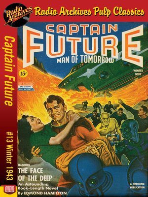 cover image of Captain Future #13