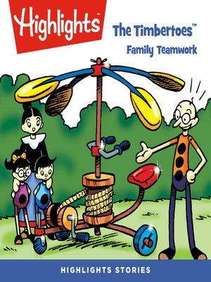 cover image of The Timbertoes: Family Teamwork