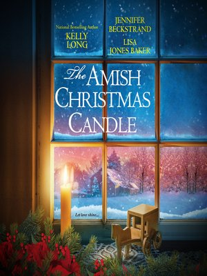 cover image of The Amish Christmas Candle