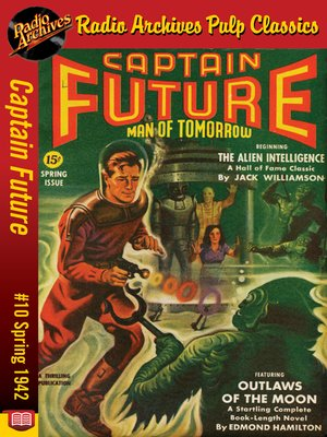 cover image of Captain Future #10