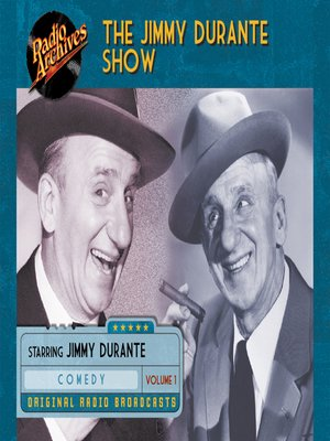 cover image of The Jimmy Durante Show, Volume 1