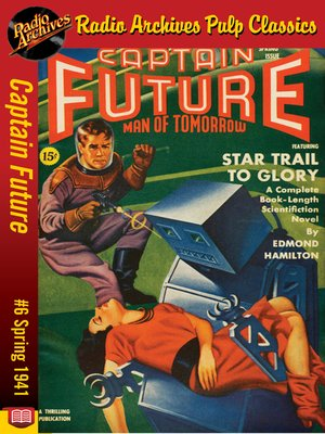 cover image of Captain Future #6