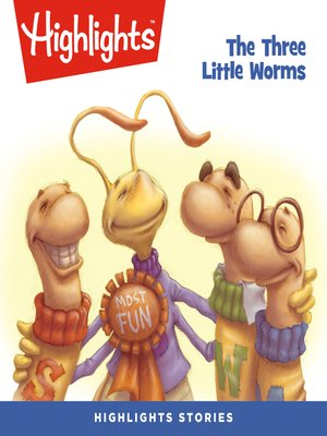 cover image of The Three Little Worms