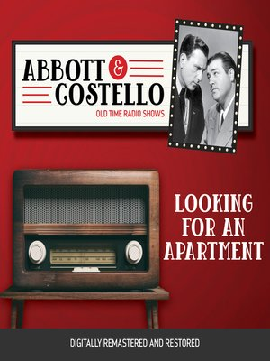 cover image of Abbott and Costello: Looking for an Apartment