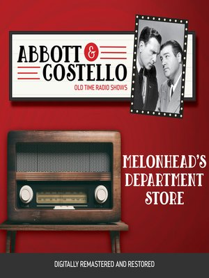 cover image of Abbott and Costello: Melonhead's Department Store