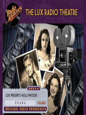 cover image of The Lux Radio Theatre, Volume 1