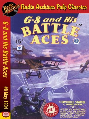 cover image of G-8 and His Battle Aces #8