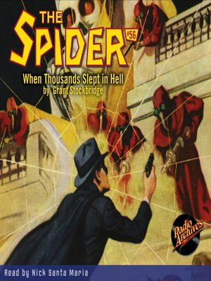 cover image of The Spider #56