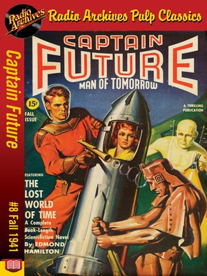 cover image of Captain Future #8
