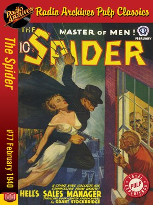 cover image of The Spider #77
