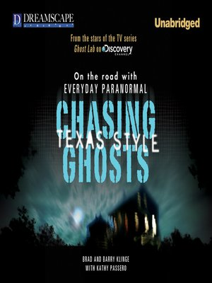 cover image of Chasing Ghosts, Texas Style