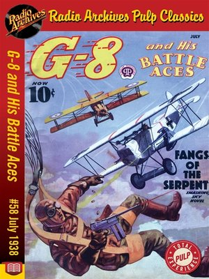 cover image of G-8 and His Battle Aces #58