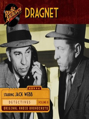 cover image of Dragnet, Volume 8