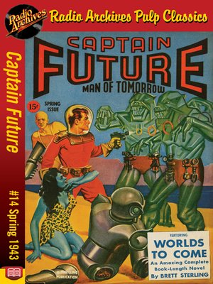 cover image of Captain Future #14