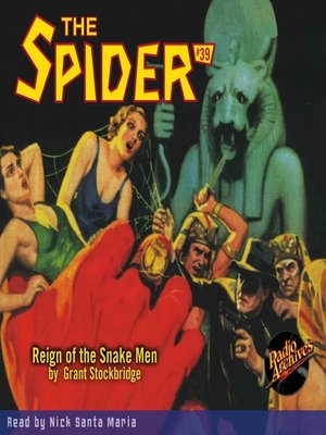 cover image of The Spider #39