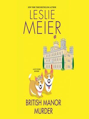 cover image of British Manor Murder