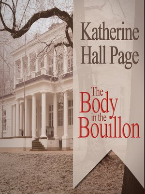 cover image of The Body in the Bouillon