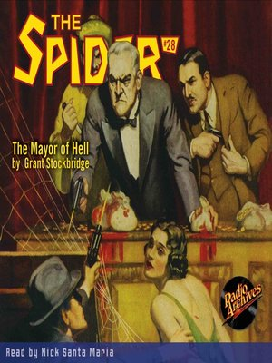 cover image of The Spider #28