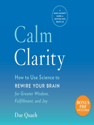 cover image of Calm Clarity
