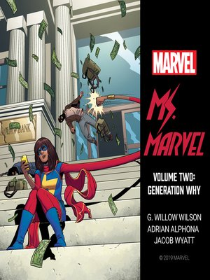 cover image of Ms. Marvel, Volume 2