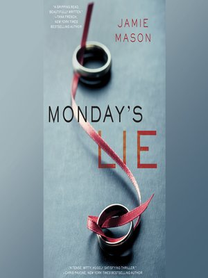 cover image of Monday's Lie